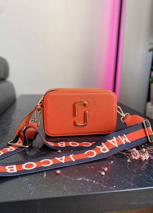 🔥🔥🔥женская сумка в стиле marc jacobs orange ll