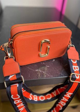🔥🔥🔥женская сумка в стиле marc jacobs orange ll3 фото