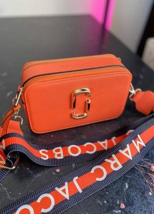 🔥🔥🔥женская сумка в стиле marc jacobs orange ll10 фото
