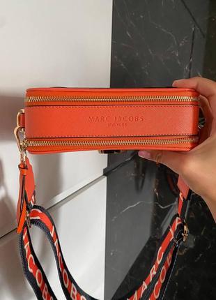 🔥🔥🔥женская сумка в стиле marc jacobs orange ll5 фото