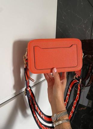🔥🔥🔥женская сумка в стиле marc jacobs orange ll6 фото