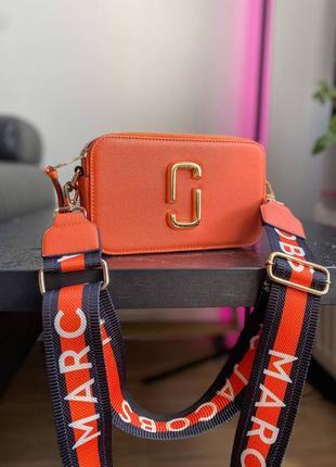 🔥🔥🔥женская сумка в стиле marc jacobs orange ll9 фото