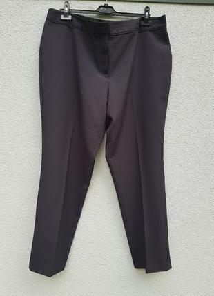Базовые классические брюки штаны чёрные f&f