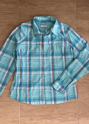 Женская трекинговая рубашка с длинным рукавом columbia