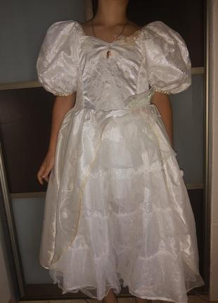 Карнавальный костюм пышное  платье принцессы
