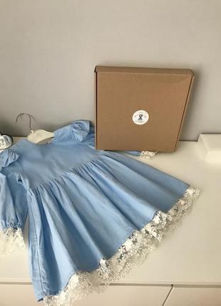 Лляна сукня платье нарядное