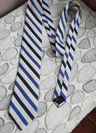 Шёлковый галстук calvin klein