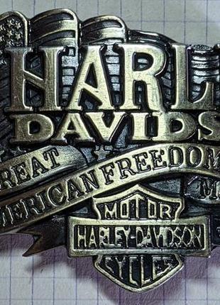 Пряжка для ремня harley -davidson