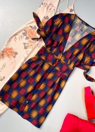 Стильное платье в стиле ретро на пуговицах nasty gal