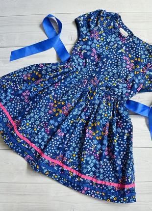 Нарядное милое платье monsoon 3 года