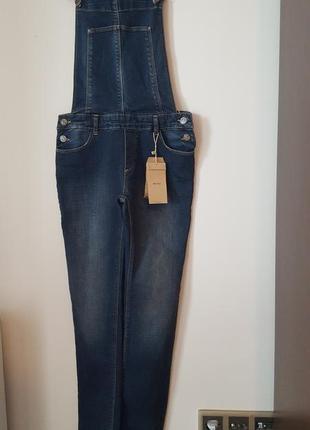 Комбинезон джинсовый bershka новый с этикеткой