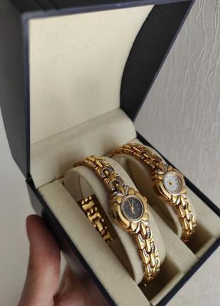 Часы бренда philip mercier сет из двух quartz