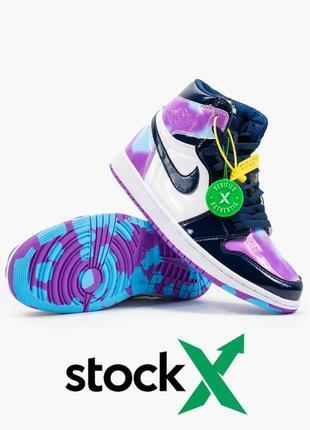 Nike air jordan 1  retro, женские демисезонные кроссовки найк джордан2 фото