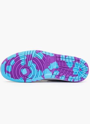 Nike air jordan 1  retro, женские демисезонные кроссовки найк джордан4 фото