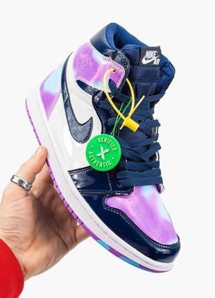Nike air jordan 1  retro, женские демисезонные кроссовки найк джордан
