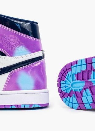 Nike air jordan 1  retro, женские демисезонные кроссовки найк джордан8 фото