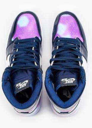 Nike air jordan 1  retro, женские демисезонные кроссовки найк джордан6 фото