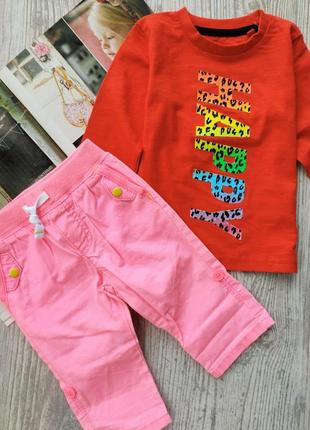 Комплект реглан next и штаны-капри carters (цена за 1шт, смотрите описание)