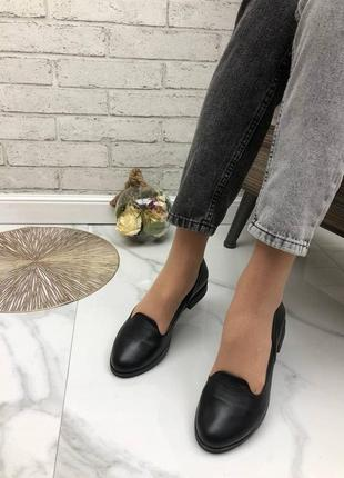 36-41 рр женские туфли, балетки, лоферы  натуральный замш/кожа3 фото