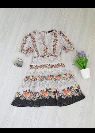 Сукня натуральна 🌸🌸🌸 платье цветочное