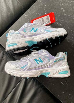 🔥🔥🔥 женские кроссовки  new balance 530 silver / blue