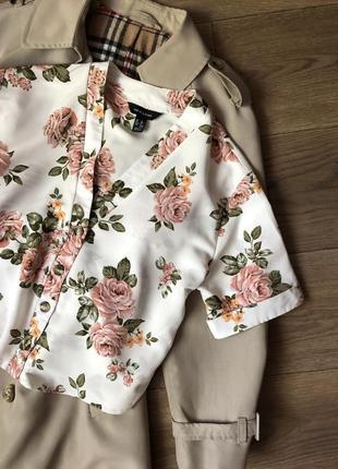 Стильная рубашка на пуговках