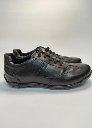 Кожаные кроссовки geox супер качество бренд италия