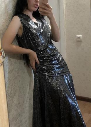 Шикарное вечернее платье винтаж st michael