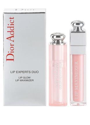 Набор dior lip experts duo