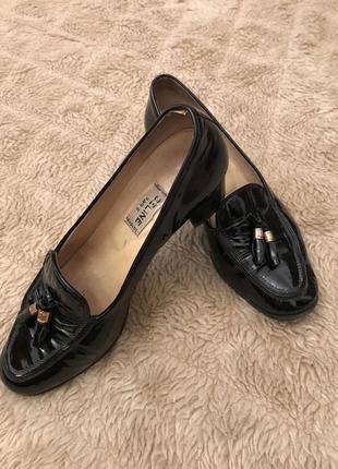 Винтажные туфли,мокасин,лоферы