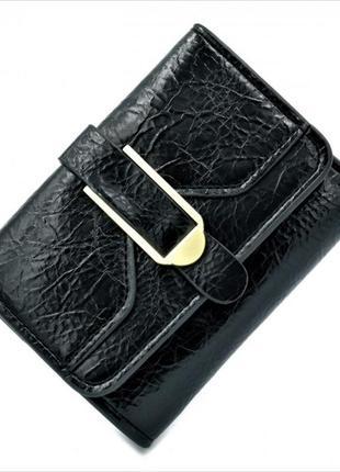 Мини кошелёк - чёрный