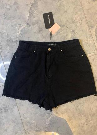 Летняя распродажа 🔥🔥🔥 джинсовые шорты черные