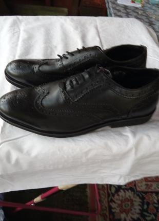 Кожаные туфли мужские 46 размер
