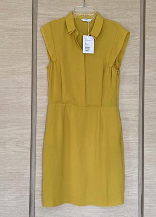 Яркое сочное платье размер s/m