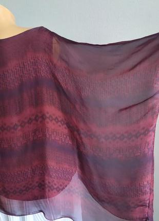 Блуза-майка, туника с натуральным шелком.7 фото