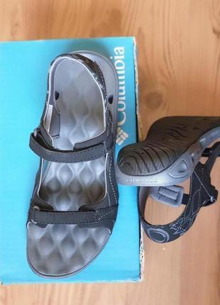 Columbia, удобные сандалии, спортивные босоножки, оригинал маленький размер, 24 см.