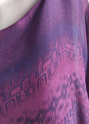 Блуза-майка, туника с натуральным шелком.5 фото