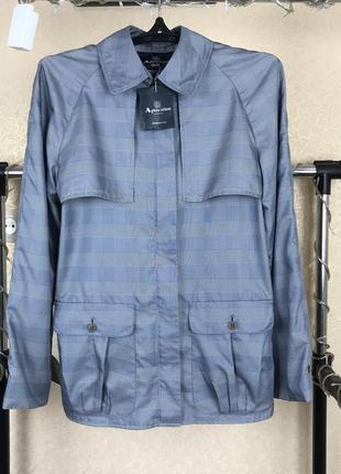 Классическая легкая куртка в клетку aquascutum vn5 в клетку  barbour