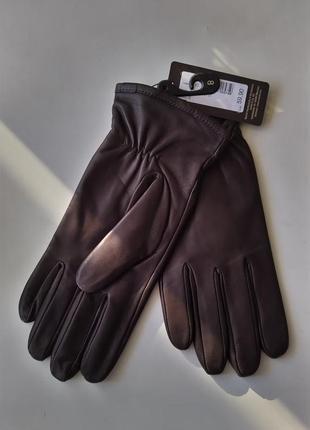 Новые перчатки roeckl, munich утеплённые мужские 100% кожа размер 8