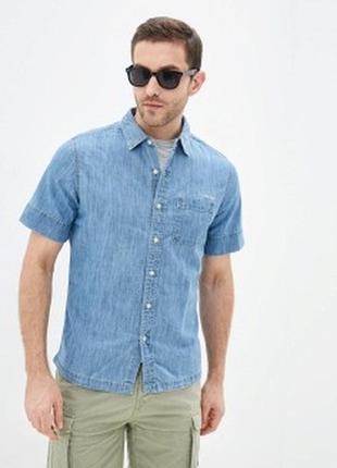 Рубашка джинсовая gant