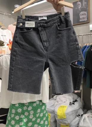 Стильные шорты бриджы в стиле maison margiela