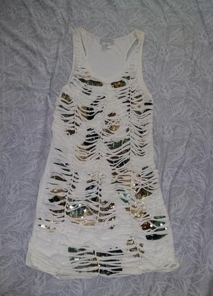 Майка-туника/мини-платье