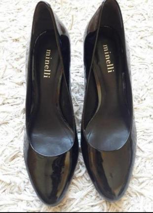 Брендові лакові туфлі,лодочки2 фото