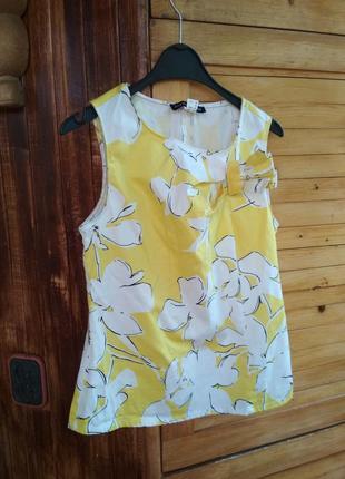 Яскрава літня блузка топ patrizia dini