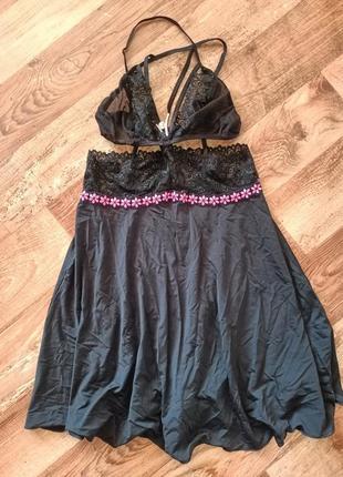 Пеньюар эротическое сексуальное платье