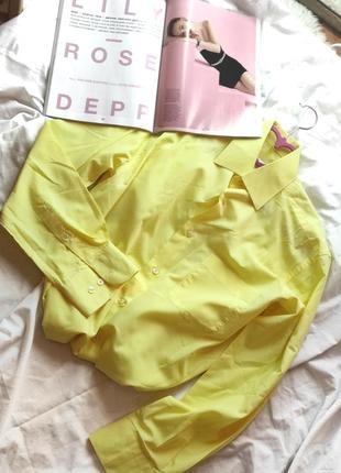 Рубашка, жовта