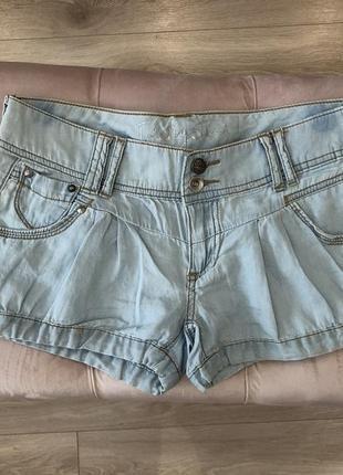 Шорты джинсовые, s, m
