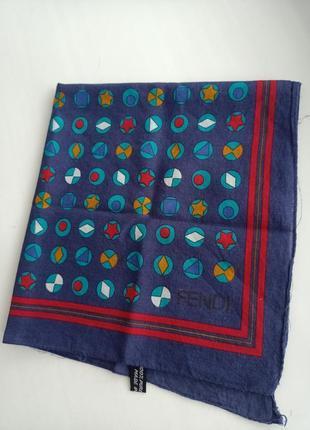 Fendi маленький хлопковый платок бандана