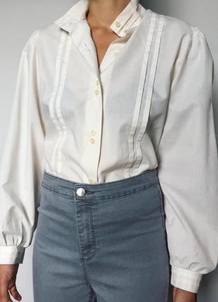 Модная блуза з пышным рукавом