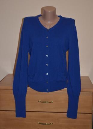Кашемировый свитер кардиган 100% кашемир дорогого бренда joop